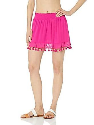 Ramy Brook Womens Stevie Skirt, Pink, Medium