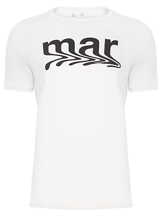 Foxton T-SHIRT MASCULINA MAR - OFF WHITE