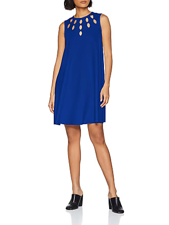 e3228d1a47 Pinko Womens Ponderato Abito Crepe Dress, Blue (Blu Surf Sul Web G00),