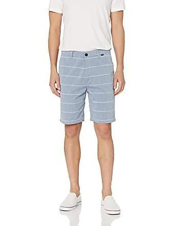 Hurley Mens Icon Chino Regular Fit 21 Walk Shorts, Coastal Blue Stripe 32
