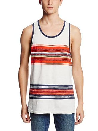 O'Neill Mens Gringo Tank Top, White, Small