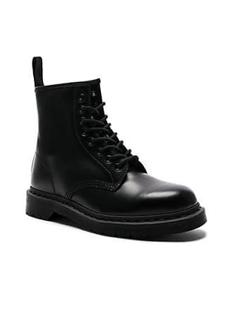 Dr. Martens 1460 8-Eye Mono Boot in Black