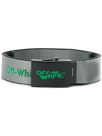 Off-white Cinto com logo - Cinza