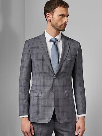 Ted Baker Debonair Wool Check Jacket in Lilac FLYDEBJ, Mens Clothing