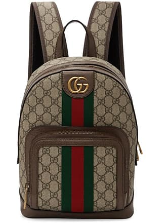 971963b7453 Gucci Brown Small GG Ophidia Backpack