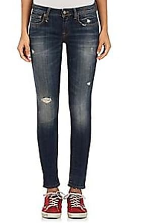 R13 Womens Kate Skinny Distressed Jeans - Md. Blue Size 29