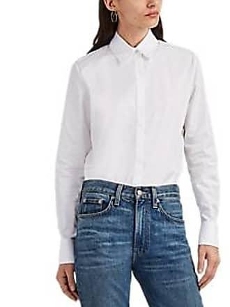 5683791e62ab0 The Row Womens Pete Cotton Button-Front Shirt - White Size 0