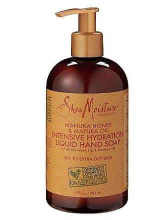 Shea Moisture Manuka Honey and Mafura Oil Intensive Hydration Liquid Hand Soap for Unisex, 13 Ounce