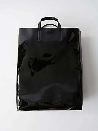 Acne Studios Baker Patent Black Large patent tote bag