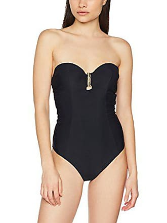 e887d0de1ae7 Calvin Klein Bandeau Tops de Bikini, Mujer, Negro (Black), Tamaño del