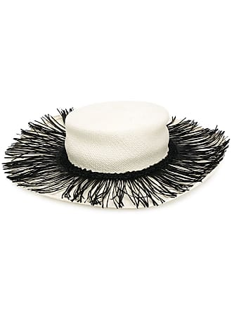 Alanui fringed hat - Branco