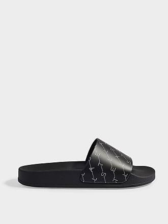 3584a2ba73c055 Stella McCartney Slides in Black and White TPU