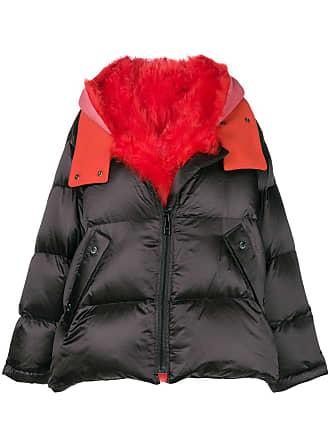 Yves Salomon - Army oversized shearling jacket - Black