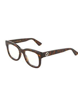 Gucci Square Tortoiseshell Acetate Optical Glasses