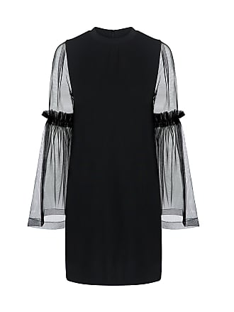 Mother Of Pearl Kai Sheer Tunic Dress Black
