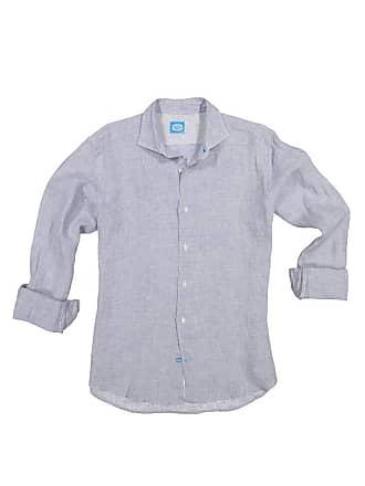 Panareha KRABI linen checked shirt grey
