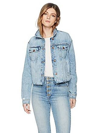 Joe's Womens Cut Off Denim Jacket, Jacinda, L