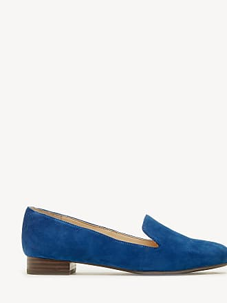 Sole Society Womens Macey Menswear Inspired Flats Cerulean Blue Size 8 CLASSIC LEOPARD From Sole Society