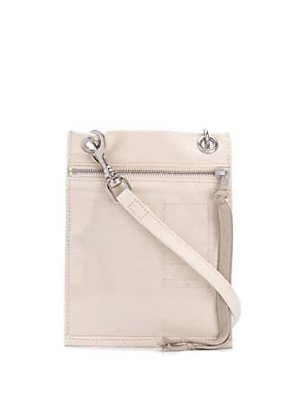 Rick Owens Carteira Security Pocket - Branco