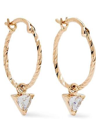 Maria Black Vidi Gold Sapphire Earrings