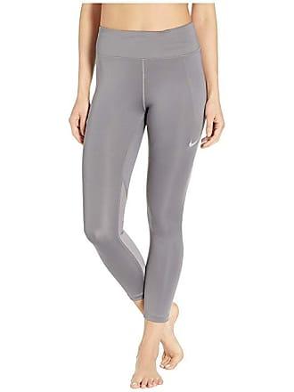 8cedb2284181 Nike Fast Crop (Gunsmoke Reflective Silver) Womens Casual Pants