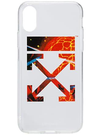 Off-white Capa para celular com logo - Branco