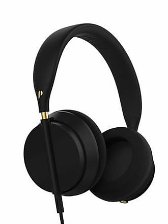 UGG Plugged Crown Over- the- Ear Headphones with Mic - Black/Gold