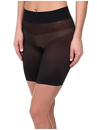 e5fc0ce82e Wolford Sheer Touch Control Shorts (Black) Womens Lingerie