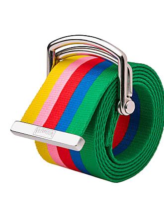 Vilebrequin Men Accessories - Water-resistant belt Rainbow - Vilebrequin x JCC+ - Limited Edition - BELT - BENTO - White - L/XL - Vilebrequin
