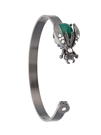 OLYMPIAH Bracelete Alverare com aplicações - Prateado