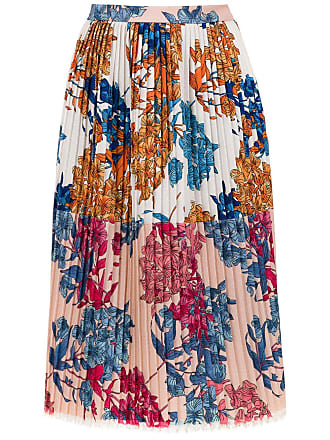À La Garçonne printed pleated skirt - Multicolour