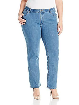 1097c55d1b8 Riders by Lee Indigo Womens Plus-Size Slender Stretch Slim Straight Leg Jean