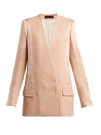 Haider Ackermann Kuiper Double Breasted Jacket - Womens - Light Pink