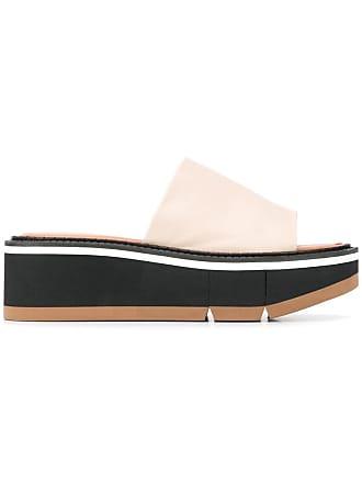 Robert Clergerie platform slip-one sandals - Neutrals