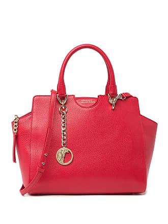 Versace Saffiano Leather Satchel