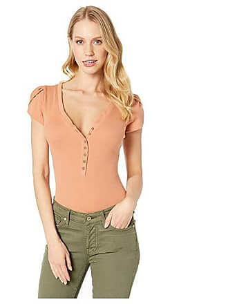 6710174e398 Free People Mia Bodysuit (Neutral) Womens Jumpsuit   Rompers One Piece