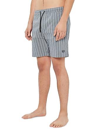 1d551fe284 Zanerobe Mens Laguna Pinstriped Chambray Shorts