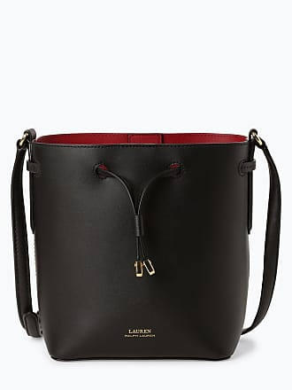 9d5b0daca94a0 Ralph Lauren Damen Umhängetasche aus Leder - Debby II schwarz