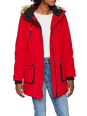 7998db6b3885a Dorothy Perkins Padded Parka, Femme, Rouge (Red 10), 40 (Taille