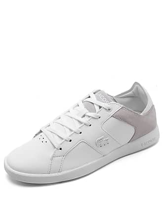30377ecfb25 Lacoste Tênis Couro Lacoste Novas 318 Branco
