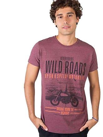 Taco T-Shirt Estampada Vinho VINHO/P