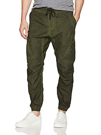 William Rast Mens-Marcelo Relaxed Tapered Pant, Green Mayfly 40