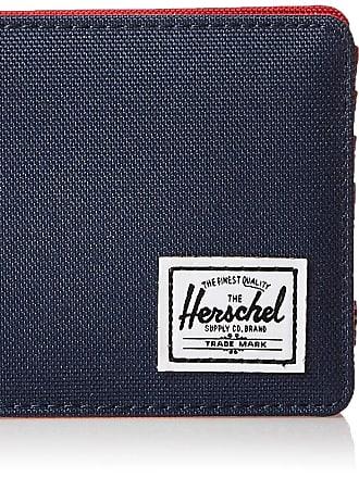 Herschel Herschel Unisex-Adults Roy + Coin RFID Wallet, Navy/Red, One size