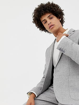 Noak Grå kostymjacka i ullmix med smal passform - Grå 1a2690e4c029d
