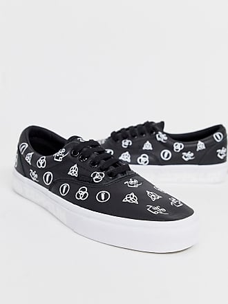 c0f506c069 Vans x Led Zeppelin Era plimsoll in black