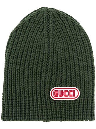d33b6745cd4 Gucci Gucci logo patch beanie - Green