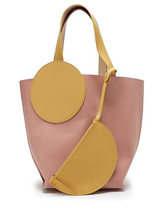098d0db78258 Roksanda Ilincic Eider Leather Tote Bag - Womens - Pink Multi