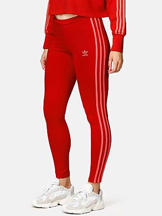 Køb adidas Originals 3 Stripes Trefoil Leggings Dame i Grøn
