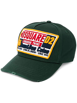 84eed83d053600 Dsquared2 Canadian Twins baseball cap - Green