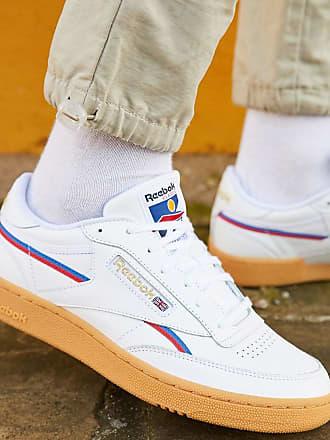 Reebok Classics - Club C 85 MU - Weiße Sneaker mit Gummisohle